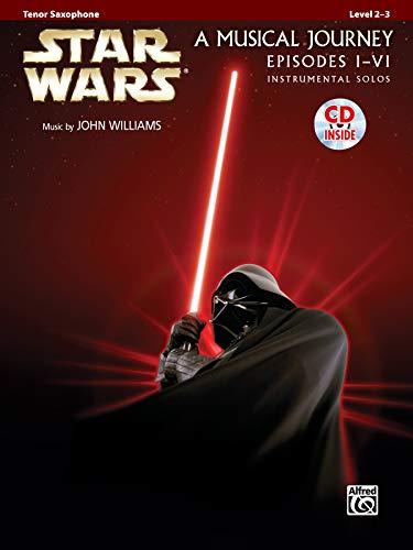 9780739058220: Star Wars Instrumental Solos (Movies I-VI): Tenor Sax, Book & CD (Pop Instrumental Solo Series)