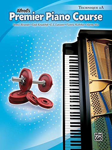 9780739058633: Premier Piano Course Technique, Bk 2A