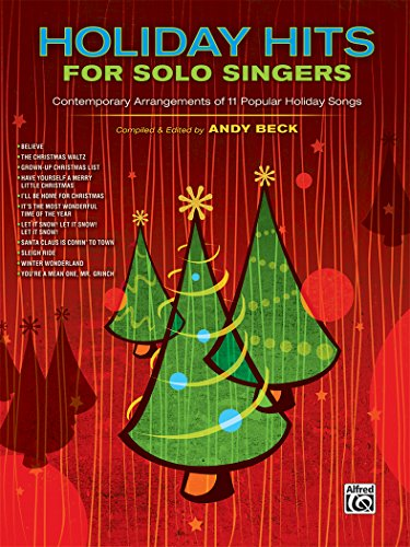9780739058657: Holiday Hits for Solo Singers: Contemporary Arrangements of 11 Popular Holiday Songs