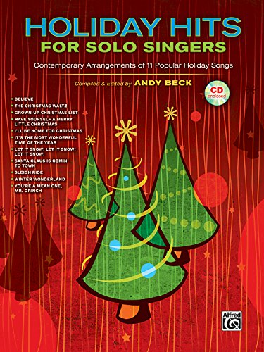 9780739058671: Holiday Hits for Solo Singers: Contemporary Arrangements of 11 Popular Holiday Songs (Book & CD)