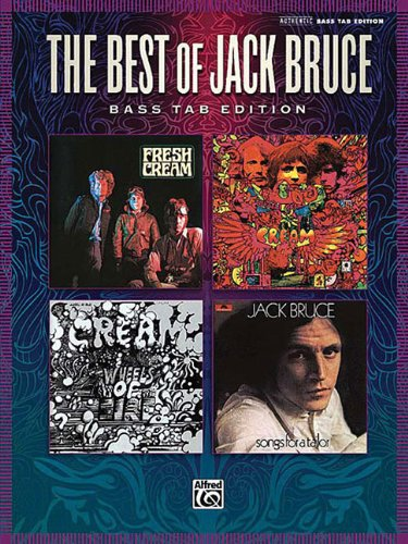 9780739059012: The Best of Jack Bruce: Bass Tab Edition