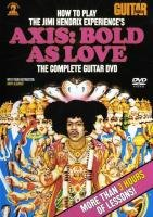 9780739059029: How to Play the Jimi Hendrix Experience's Axis: Bold As Love: The Complete Guitar DVD