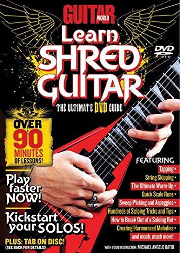 9780739059111: Guitar World -- Learn Shred Guitar: The Ultimate DVD Guide, DVD