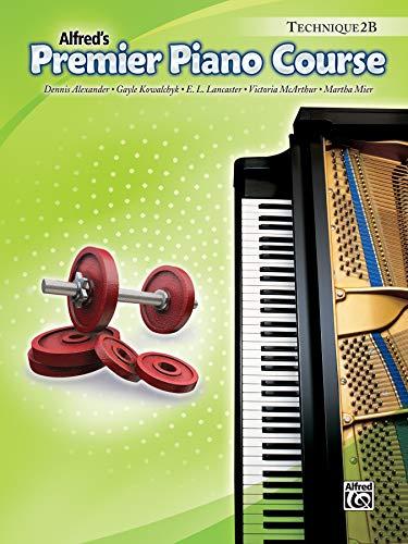 9780739059357: alfred's Premier Piano Course, Technique 2B