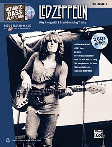 9780739059432: Ultimate Bass Play-Along Led Zeppelin, Vol 2: Play Along with 8 Great-Sounding Tracks (Authentic Bass TAB), Book & 2 CDs (Ultimate Play-Along)