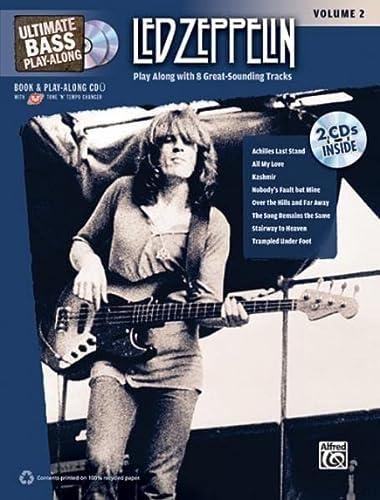 9780739059432: Led Zeppelin: Ultimate Bass Play-along: 2