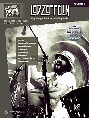 9780739059449: Ultimate Drum Play-Along Led Zeppelin, Vol 1: Play Along with 8 Great-Sounding Tracks (Authentic Drum), Book & 2 CDs (Ultimate Play-Along)