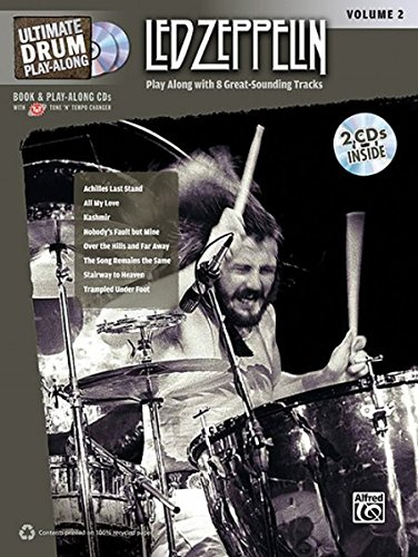 9780739059456: Ultimate Drum Play-Along Led Zeppelin, Vol 2: Play Along with 8 Great-Sounding Tracks (Authentic Drum), Book & 2 CDs (Ultimate Play-Along)