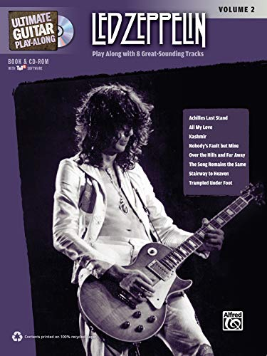 9780739059470: Ultimate Guitar Play-Along Led Zeppelin, Vol 2: Authentic Guitar TAB, Book & 2 CDs (Ultimate Play-Along)