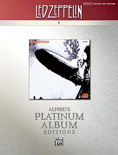 9780739059555: Led Zeppelin I Platinum Guitar: Authentic Guitar Tab