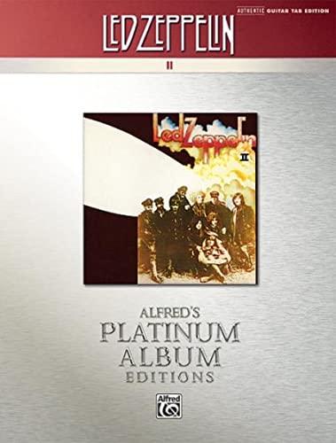 9780739059562: Led Zeppelin II Platinum Guitar: Authentic Guitar Tab
