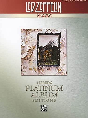 9780739059586: Led Zeppelin IV Platinum Guitar: Authentic Guitar Tab