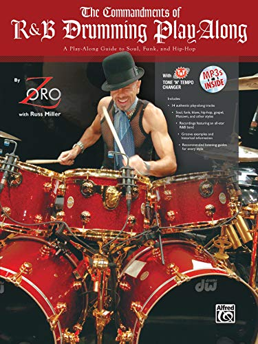 9780739059692: The Commandments of R&B Drumming Play-Along: A Play-along Guide to Soul, Funk, and Hip-hop
