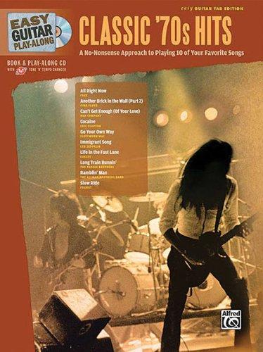 9780739059708: Easy Guitar Play-Along Classic '70s Hits: Easy Guitar Tab