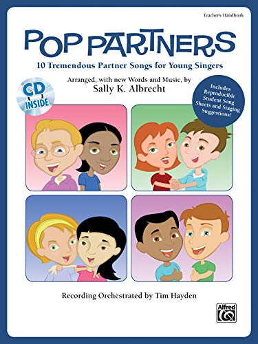 9780739059784: Pop Partners: 10 Tremendous Partner Songs for Young Singers, Book & CD (Partner Songbooks)