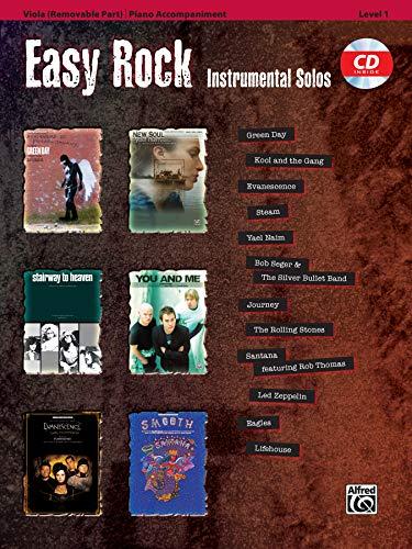 9780739059883: Easy Rock Instrumental Solos for Strings, Level 1: Viola, Book & CD (Easy Instrumental Solos Series)