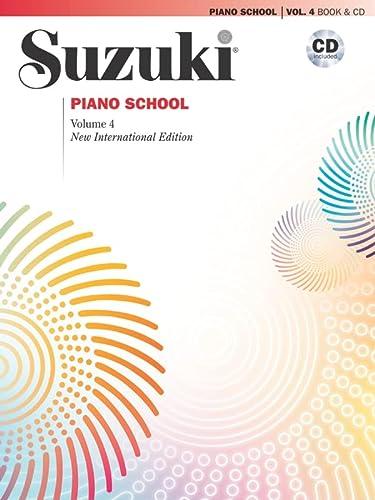 9780739059906: Suzuki Piano School, Vol 4: Book & CD (Suzuki Method Core Materials)