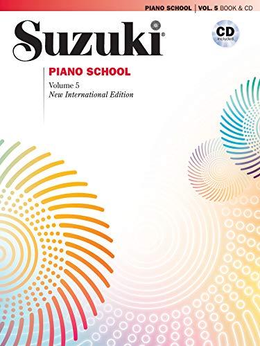 9780739059937: Suzuki Piano School, Vol 5: Book & CD (The Suzuki Method Core Materials)