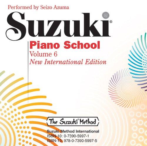 Suzuki Piano School, Vol 6: Azuma, Seizo