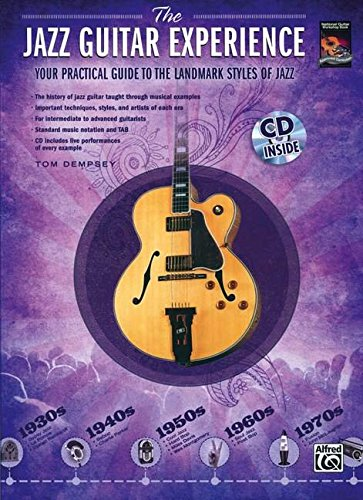 9780739060131: The Jazz Guitar Experience: A Quick Guide to Jazz Styles Through the Years, Book & CD