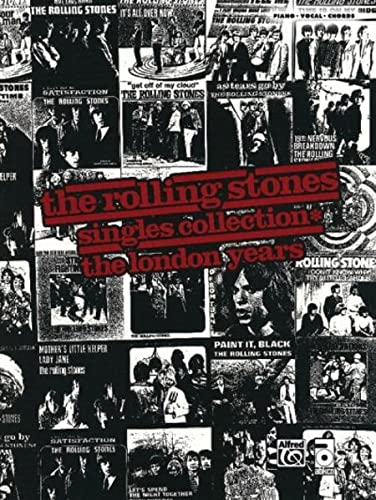 9780739060278: Rolling Stones -- Singles Collection* The London Years: Piano/Vocal/Chords