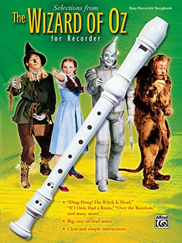 Wizard of Oz for Recorder: Alfred Publishing Staff