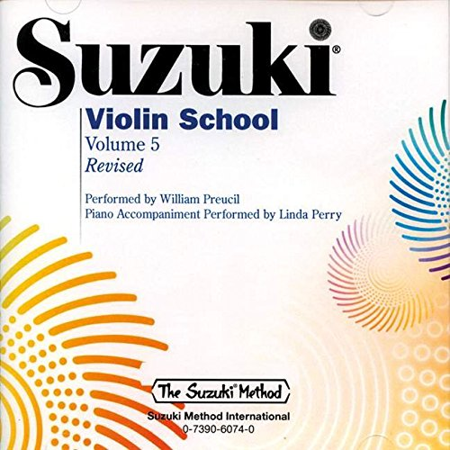 9780739060742: Suzuki Violin School, Vol. 5 (The Suzuki Method)