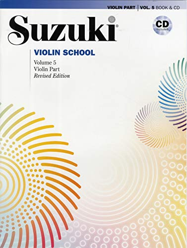 9780739060759: Suzuki Violin School, Vol 5: Violin Part, Book & CD (Suzuki Method Core Materials)