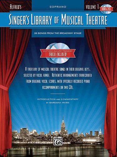 9780739060940: Singer's Library Of Musical Theatre Volume 1 Soprano Book And 2 CDs
