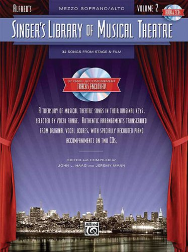 Singer's Library Of Musical Theatre Vol 2 Mezzo Soprano/Alto Book/2 CD's (...