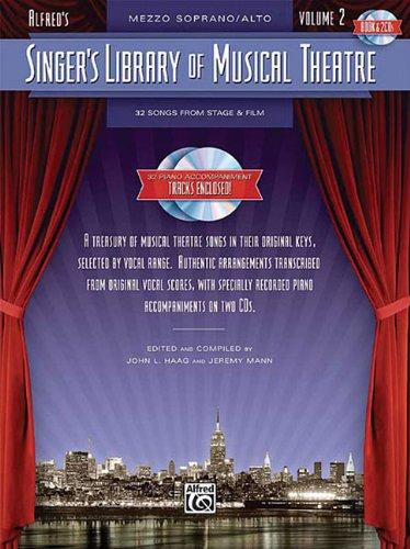 9780739061046: Singer's Library of Musical Theatre - Vol. 2: Mezzo-Soprano Book/2-CDs Pack