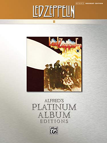 9780739061336: Led Zeppelin -- II Platinum Drums: Drum Transcriptions (Alfred's Platinum Album Editions)