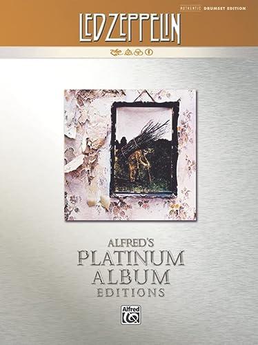 9780739061350: Led Zeppelin -- IV Platinum Drums: Drum Transcriptions (Alfred's Platinum Album Editions)