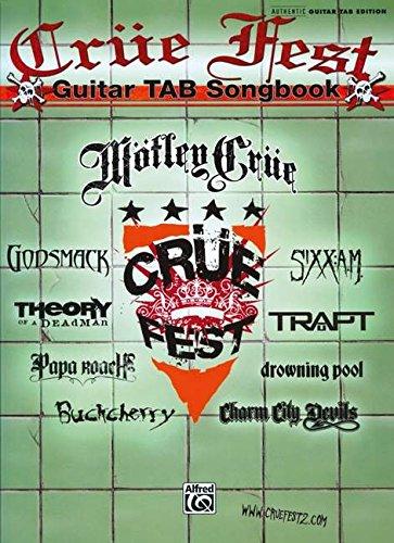 9780739061374: Crue Fest Guitar Tab Songbook (Authentic Guitar-Tab Editions)