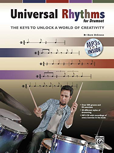 9780739061527: Universal Rhythms for Drummers: The Keys to Unlock a World of Creativity, Book & CD