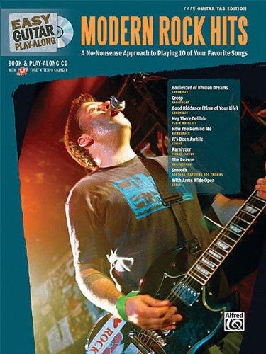 9780739061749: Easy Guitar Play-Along Modern Rock Hits: Easy Guitar Tab, Book & CD (Easy Play Along)