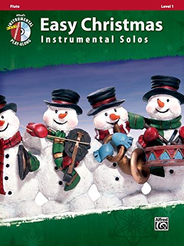 9780739062197: Easy Christmas Instrumental Solos, Level 1: Flute, Book & CD (Easy Instrumental Solos)
