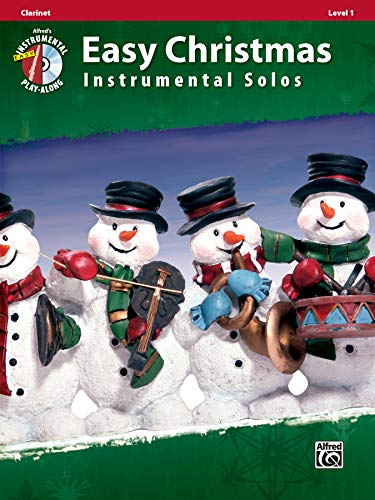9780739062203: Easy Christmas Instrumental Solos, Level 1: Clarinet, Book & CD (Alfred's Instrumental Play-Along)