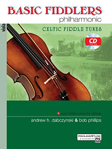 9780739062395: Basic Fiddlers Philharmonic Celtic Fiddle Tunes: Viola, Book & CD
