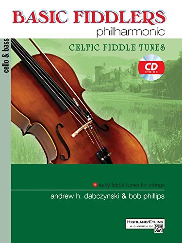9780739062418: Basic Fiddlers Philharmonic Celtic Fiddle Tunes: Cello & Bass, Book & CD