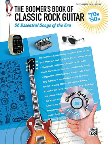 9780739062678: The Boomer's Book Of Classic Rock Guitar 70S & 80S 56 Essential Songs Ez Gtr Tab Ed