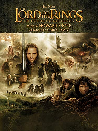 9780739062753: The Lord of the Rings Trilogy: Music from the Motion Pictures Arranged for Big Note Piano