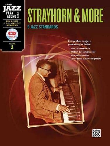 Alfred Jazz Play-Along -- Strayhorn & More, Vol 1: C, B-flat, E-flat & Bass Clef ...