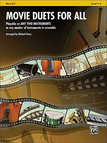 9780739063088: Movie Duets for All: Horn in F, Level 1-4 (Instrumental Ensembles for All)