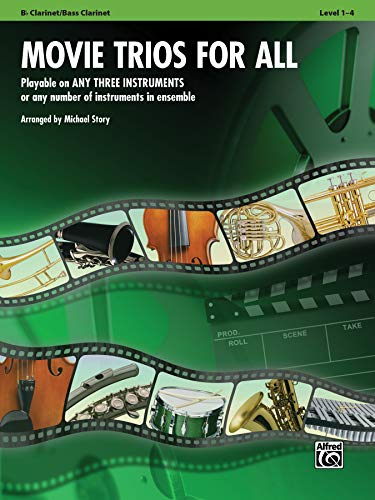 9780739063163: Movie Trios for All: B-flat Clarinet, Bass Clarinet