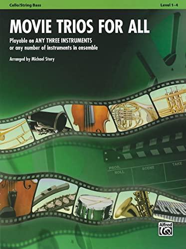 9780739063248: Movie Trios for All: Cello/Bass (Instrumental Ensembles for All)