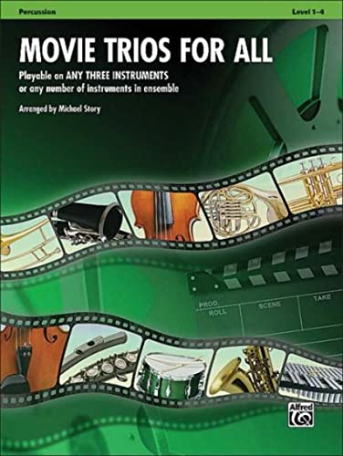 9780739063255: Movie Trios for All: Percussion (Instrumental Ensembles for All)