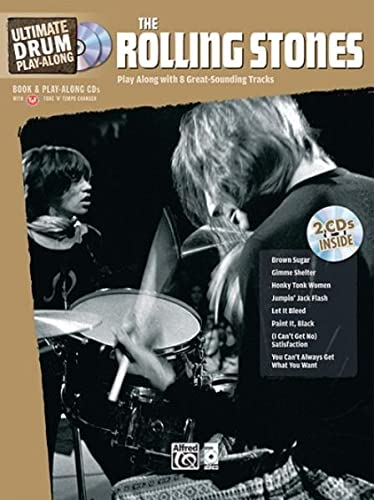 9780739063705: Ultimate Drum Play-Along Rolling Stones: Play Along with 8 Great-Sounding Tracks (Authentic Drum), Book & CD (Ultimate Play-Along)