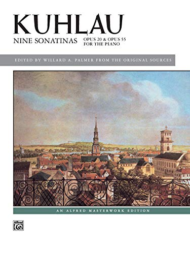 9780739063767: Kuhlau: Nine Sonatinas: Opus 20 & Opus 55 for the Piano (Alfred Masterworks Library)
