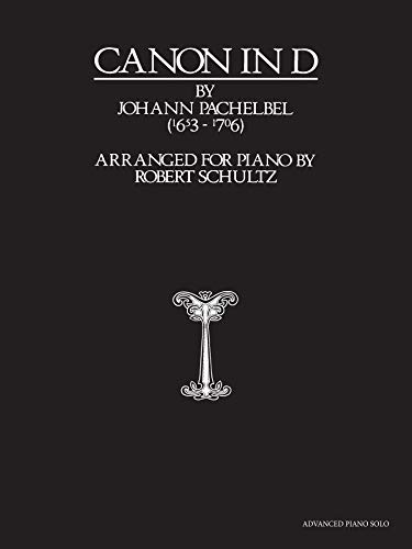 9780739063804: Canon in D: Advanced Piano Solo, Sheet